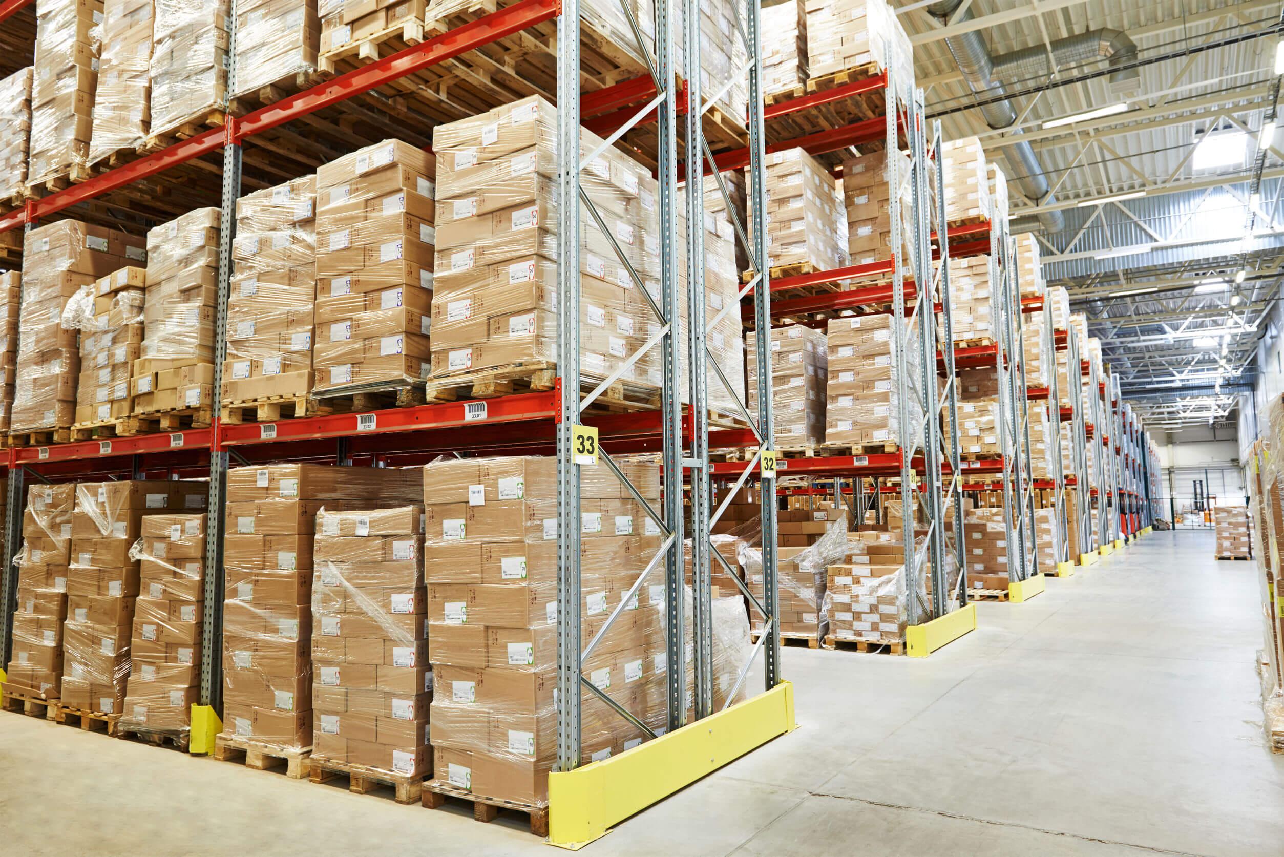 Industrial WLAN in einer Logistik-Halle